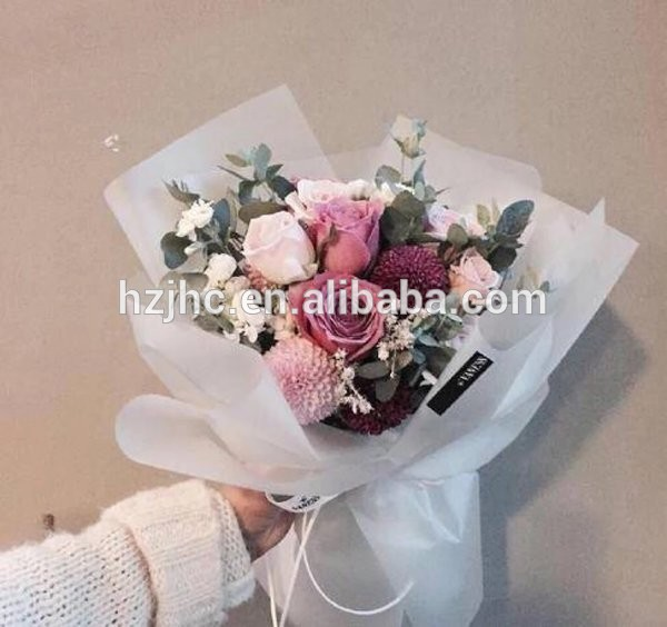 Colorful flower wrapping non woven paper