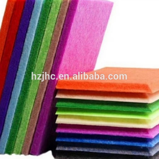 High Quality Needle Punched Felt Nonwoven Fabric For Handmade DIY Fabric