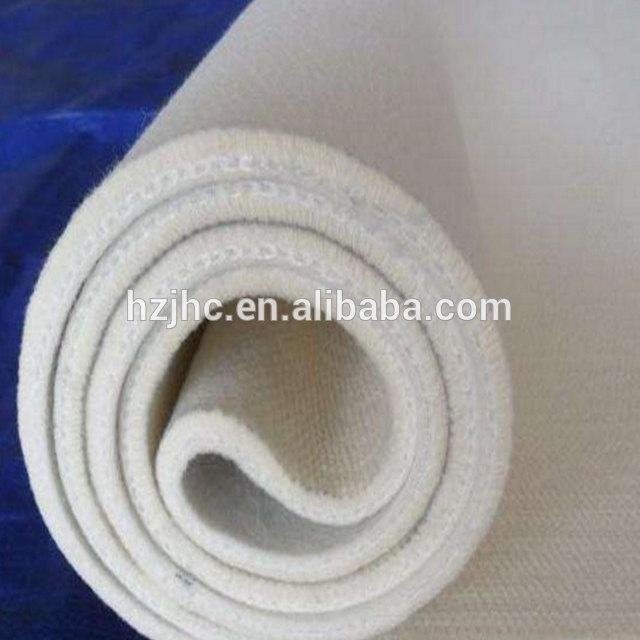 100% Polyester Composition Custom Thickness Needle Punched Mattress Felt Non-woven Fabric