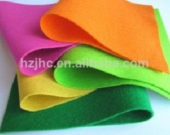 Groothandel wat gesny nonwovens polyester gevoel blomme handwerk stof