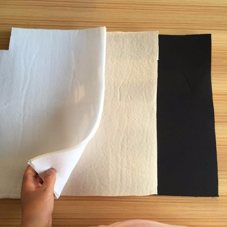 Laminated foam padding for molded bra cup