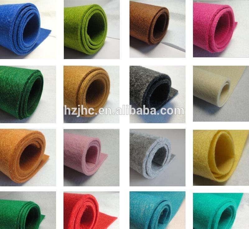 2017 bagong produkto lana nadama raw materyal para sa kahanga-hangang nonwoven nadama craft