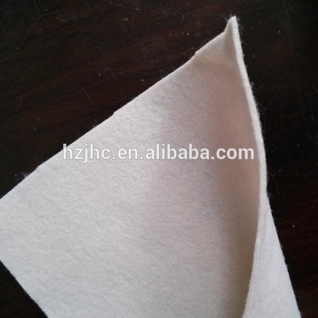 Nagykereskedelmi tűnemezelt filc szőtt szövet Fertőtlenítő Fabric
