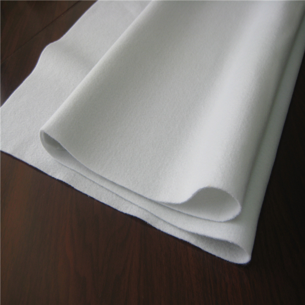 High quality needle punched nonwoven wool felt fabric