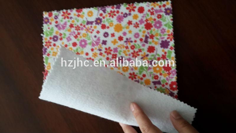 Zelfklevende polyester blom gedruk nie-geweefde stof vir agtergronde