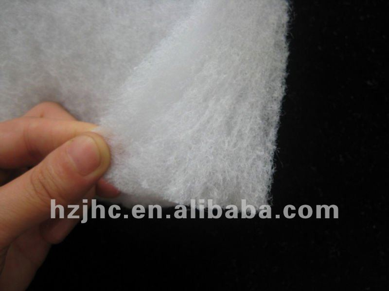 Eco-friendly Washable polyester garment padding material