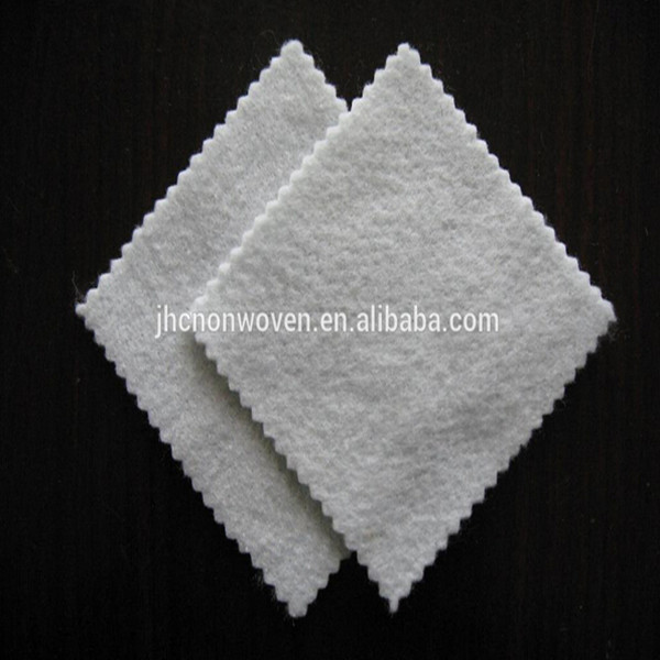 Cheap needle punched non-woven recycled pet felt padded/interlining materials