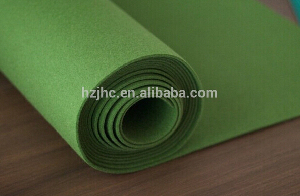 Needle punched nonwoven polyester acrylic thick felt fabric in rolls Featured Image