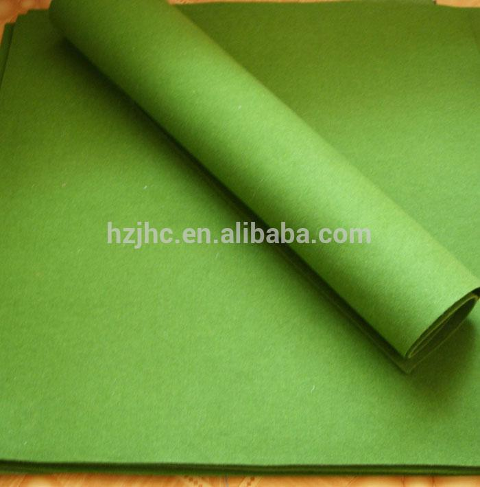 JHC high quality green color pinboard felt