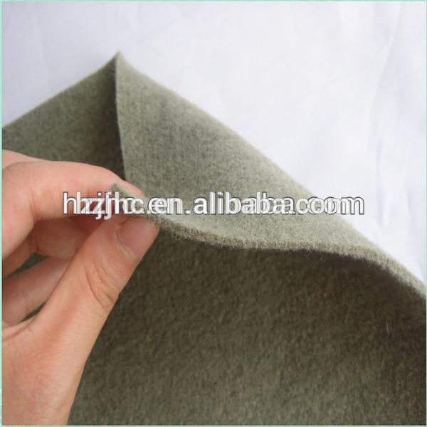 JHC gjilpërë me cilësi të lartë grushta tapiceri makine ndjerë pëlhurë