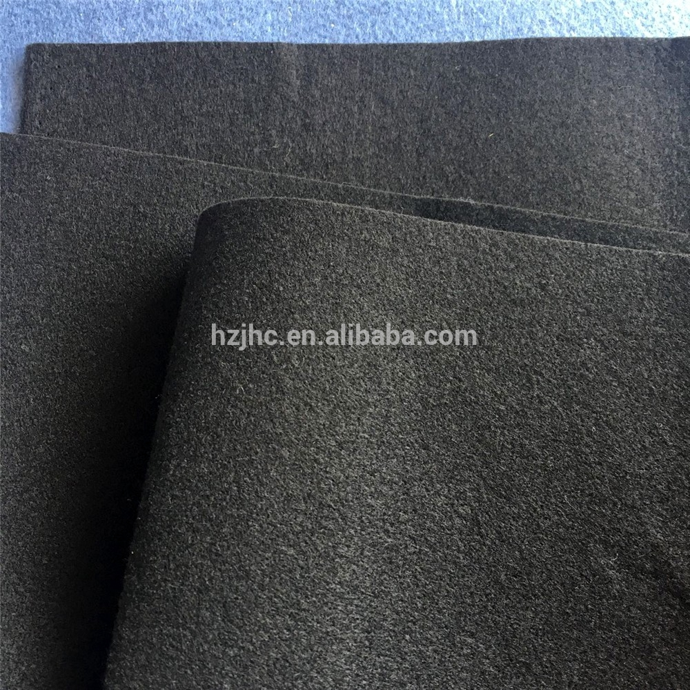 High quality polyester needle punched nonwoven fabric felt