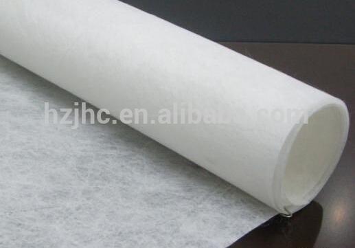 Non-Woven PET / PP Geotextile Water Air Filter Mat Fabric