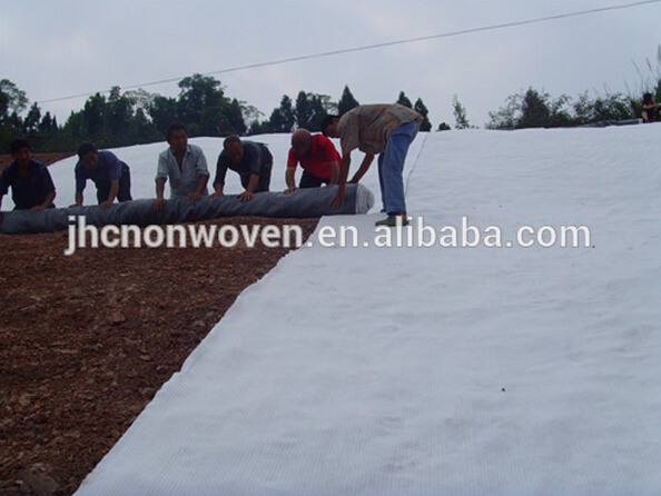 Dam polypropylene non-woven geotextile for slope protection