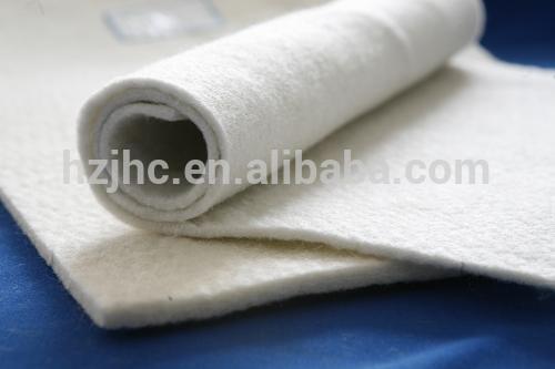 Heat insulation rock nonwoven needle wool felt blanket with wire mesh