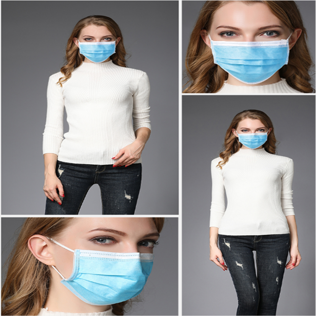 Nonwoven face mask/Disposable nonwoven face mask