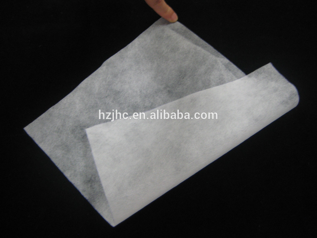 Needle punched non woven silk filter cloth mesh
