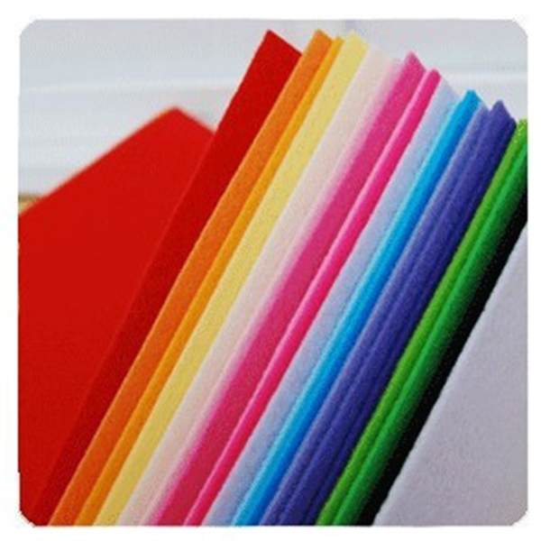 high quality non woven needle felt fabric rolls