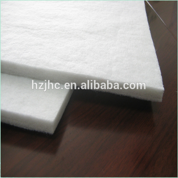 Huizhou Factory Thermal Bonding Wadding Woven fabric for home textile