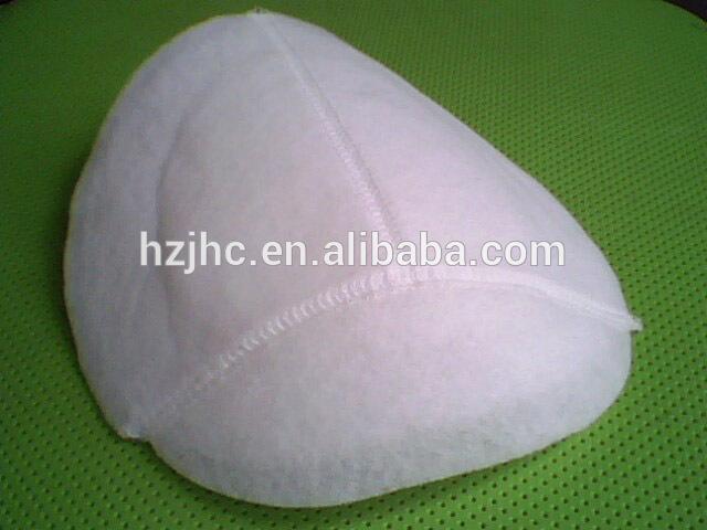 garment shoulder pad nonwoven fabric material