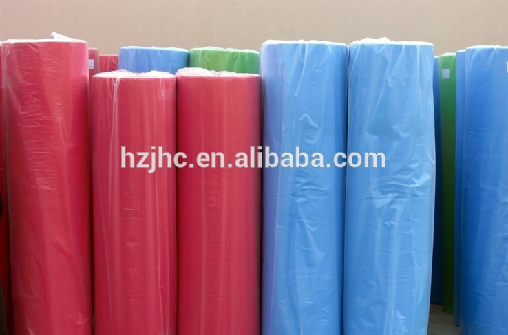 Laminating PP/PE/PVC film polyester non-woven felt fabric wholesale