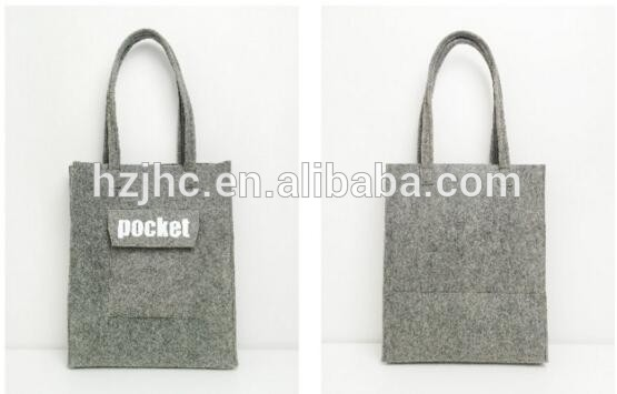 Online shop china custom polyester hand made felt shipping bag case suppliers