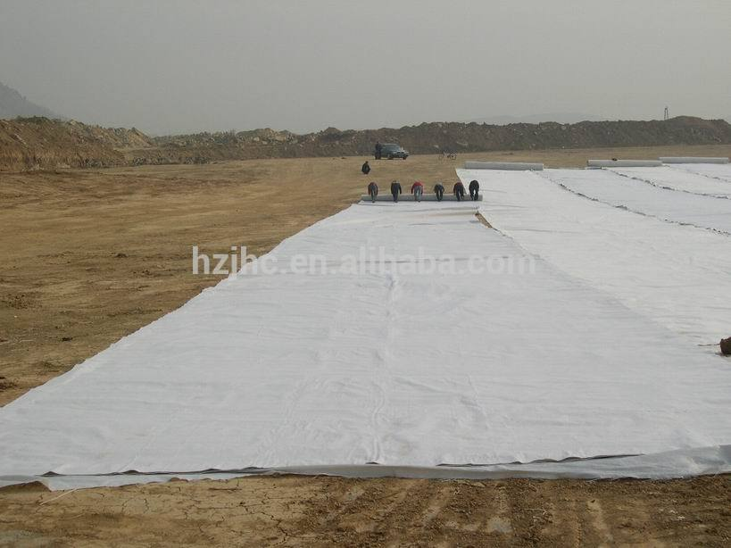 Make-to-order nonwoven geotextile mat