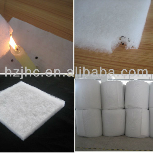 hot air through New Popular nonwoven thermal bonded wadding Production Line with electricity
