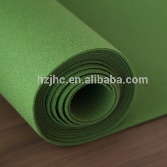 High quality needle punched nonwoven golf felt