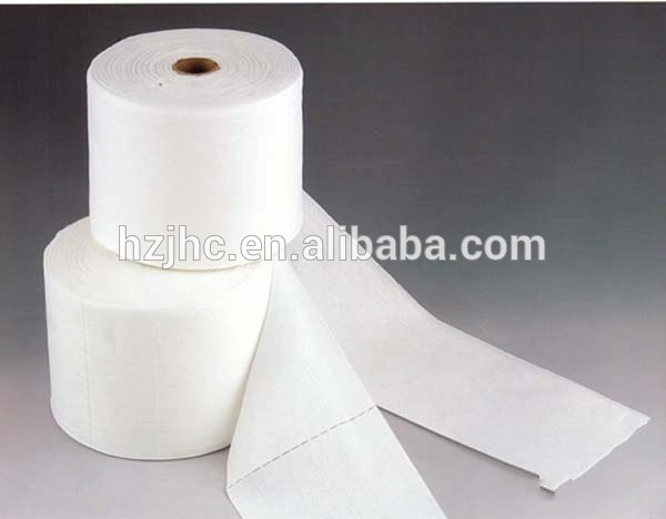 Needle punched 100% cotton non woven fabric