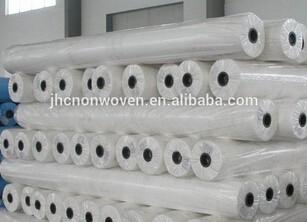 Alibaba China White Plain Spunlace Non Woven Fabric Roll Featured Image