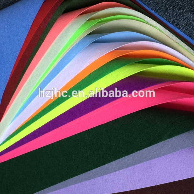 Wholesale Custom Made Needle Punched Fabric Felt For Interlning Featured Image