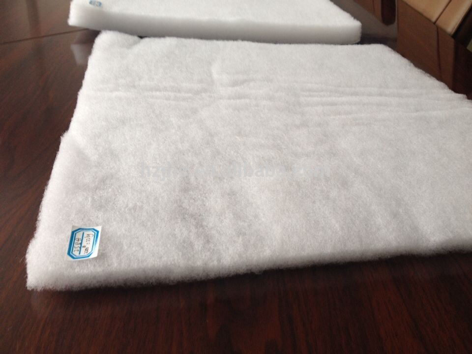 Nonwoven filling cotton silk poly wadding lining