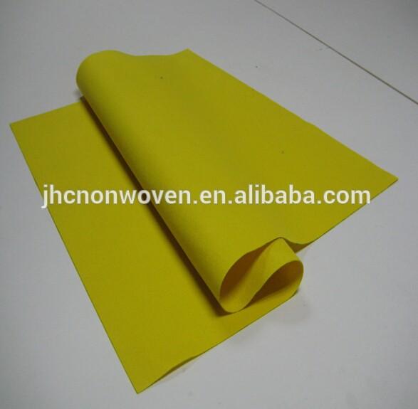 Waterproof washable jarum polyester felt kain Panggonan Mat