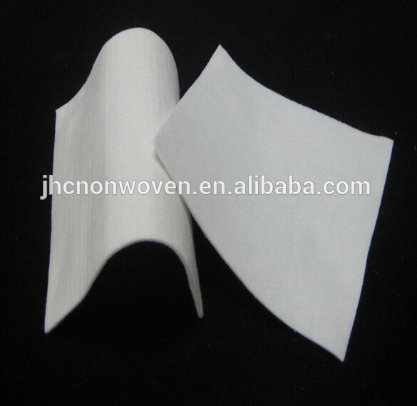 Whole sale white medical blood absorbent nonwoven felt pad fabric