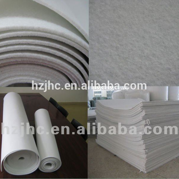jalan kualitas bagus China100% polyester merasa daur ulang kain non woven