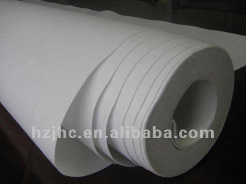 Polyester nonwoven waterproof vov tsev koob muaj underlay fabrics