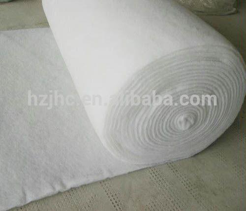 High density insulation nonwoven fiberglass felt fabric