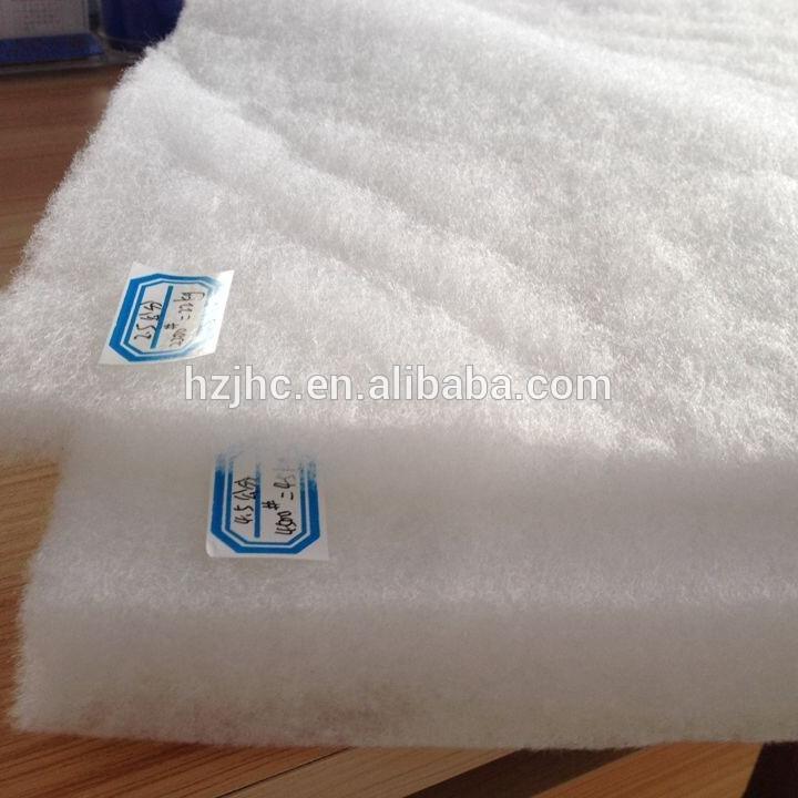 Thermal bonded silk/wool/polyester wadding/batting/padding material