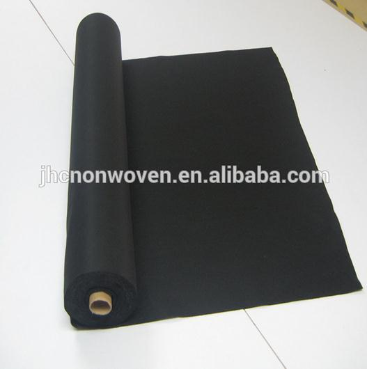 Needle punched nonwoven rayon graphite felt fabric wholesale
