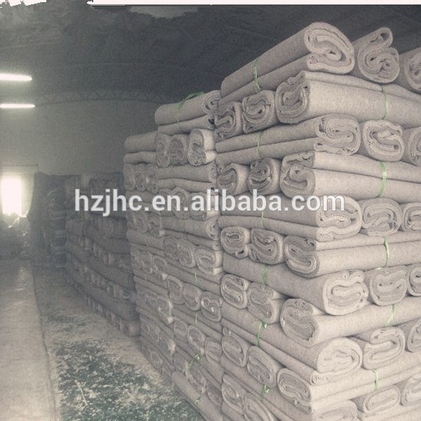 Stock blanket,moving felt,mattress felt,recycle felt,under pad for furniture make in china