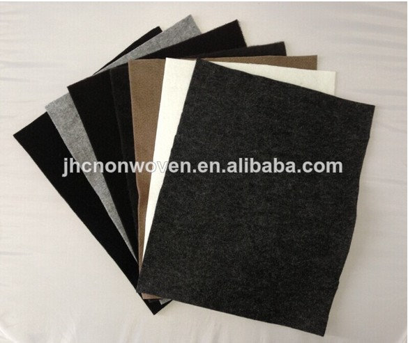High Quality Reinforced polyester nonwoven felt rug pad materials