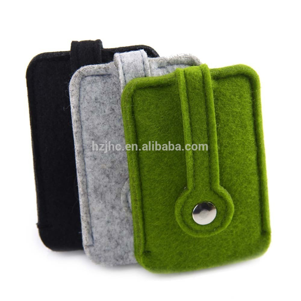 Cheap custom promotion polyester handmade felt case / pouch / bags suppliers