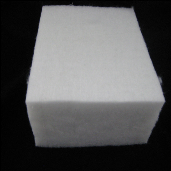 Warm polyester thermal wadding for bed coverlet