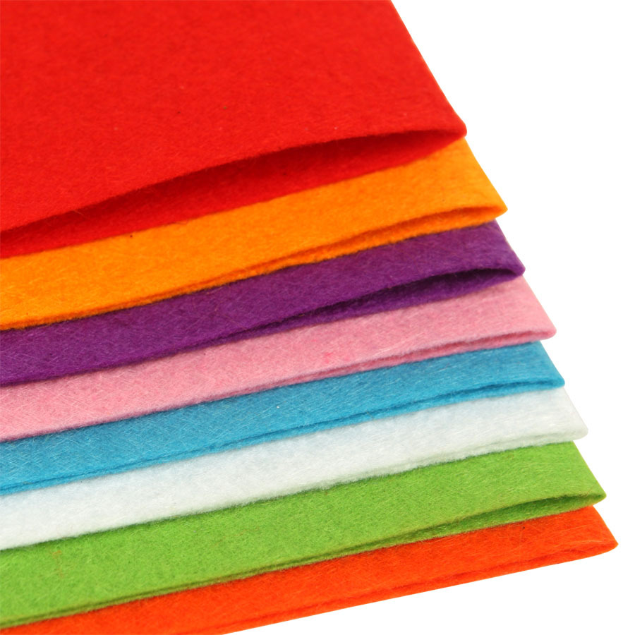Customized non-woven fabric color felt for crafts