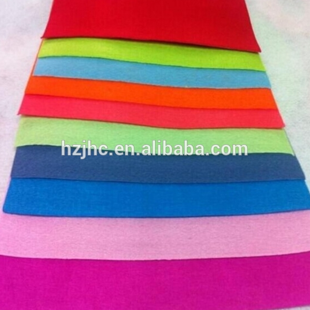 Customized Colour Handmade DIY Use Needle Punched Felt Non woven Fabric