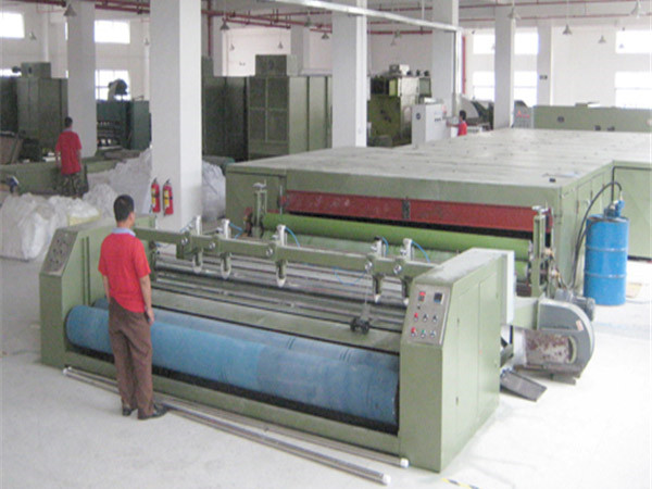 Thermal bonded production line