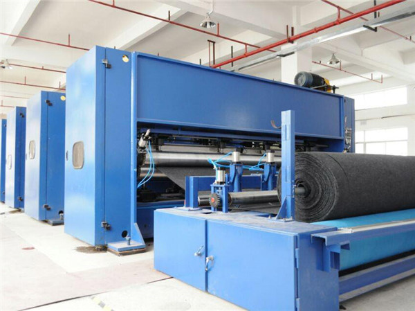 Needle punched production line