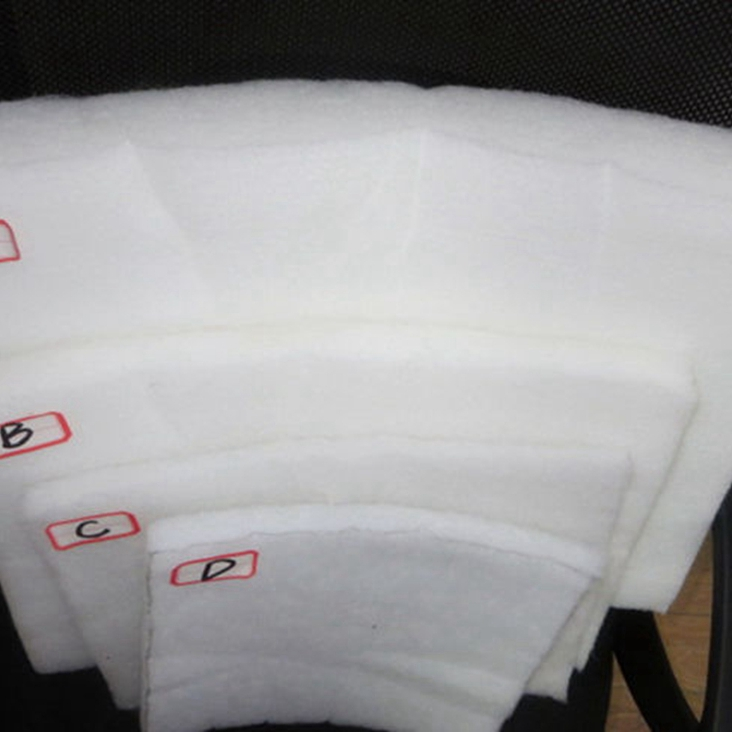High quality polyester thermal bonding wadding fabric