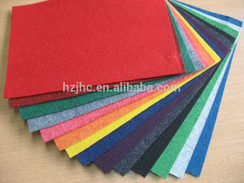 High quality Needle Punched non woven fabric softextile felt fabric