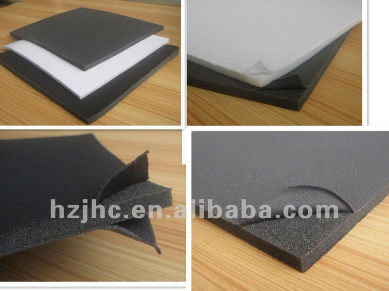 Bulk PP/PE/PVC film sponge polyester non-woven backing supplier